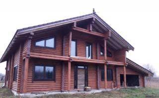 установка деревянных евроокон в частном доме