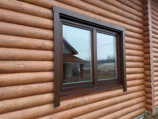 установка деревянных окон в частном доме